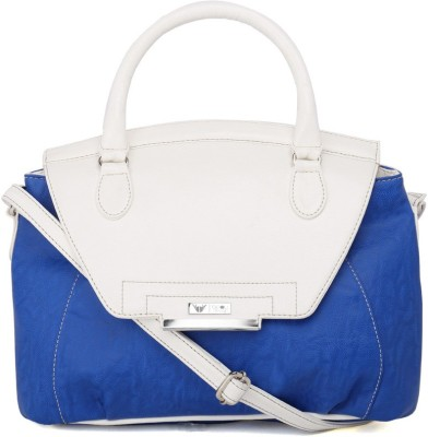 Beau Design Women Casual Blue PU Sling Bag