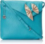 Donna & Drew Women Blue PU Sling Bag