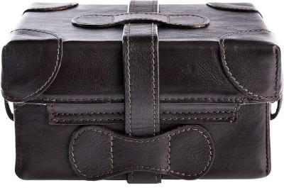 Hidesign Women Brown Genuine Leather Sling Bag