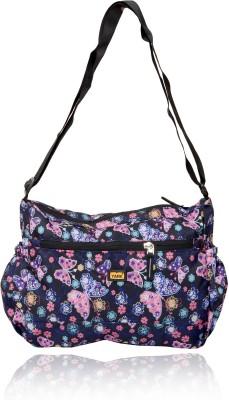Yark Girls Multicolor Nylon Sling Bag