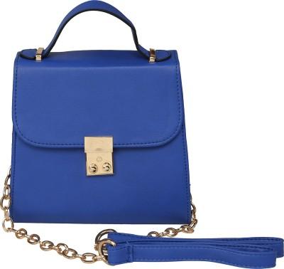 ToniQ Girls, Women Blue Polyester Sling Bag