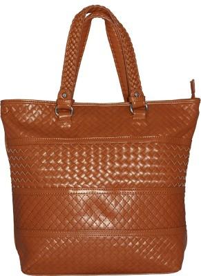 Firangi Women Tan Leatherette Sling Bag