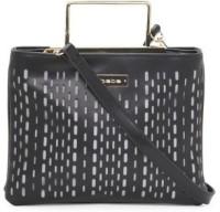 Bebe Women Black, Grey Genuine Leather Sling Bag