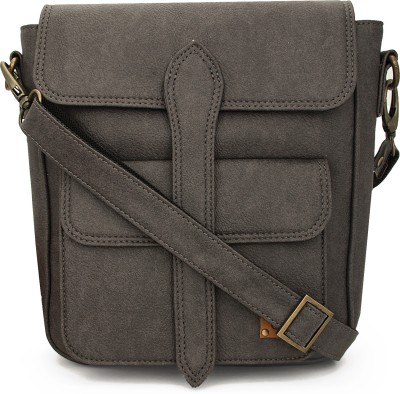 toog Girls, Women Grey Leatherette Sling Bag