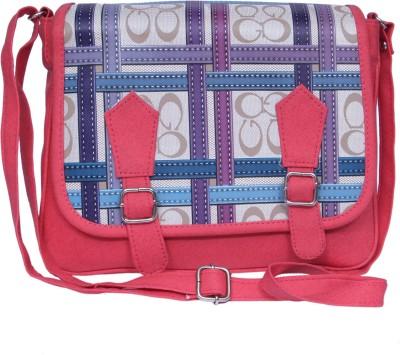zasmina Girls, Women Pink PU Sling Bag