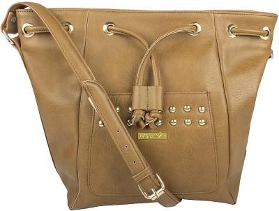 Osaiz Girls, Women Tan PU Sling Bag