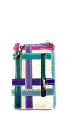 Mayursflora Women Multicolor Leatherette Sling Bag