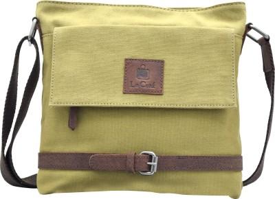 Le Craf Men, Women Casual Brown Canvas Sling Bag
