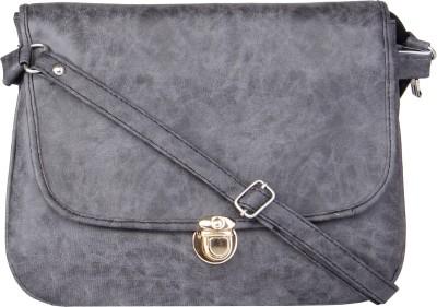 Voaka Girls, Women Grey Leatherette Sling Bag