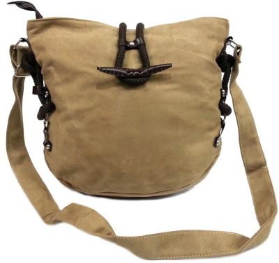 Belladona Girls Beige PU Sling Bag