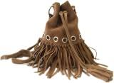 Romari Women Brown Genuine Leather Sling...