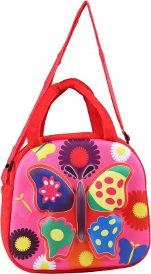 FabSeasons Boys, Girls Casual Red Cotton Sling Bag