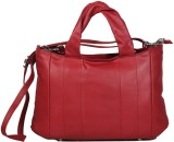 Hidekraft Women Red Genuine Leather Slin...