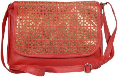 Murcia Women Red PU Sling Bag
