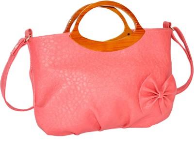 Minar Girls Pink PU Sling Bag