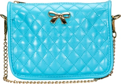 Alanna Women Casual Blue PU Sling Bag