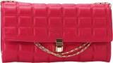 The Zoya Life Women Pink PU Sling Bag