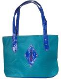 Modish Look Women Casual Blue PU Shoulde...
