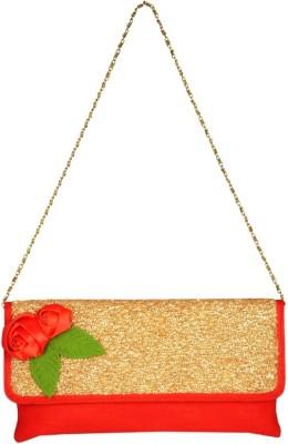 Lizzie Women Red PU Sling Bag