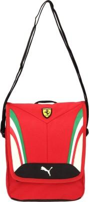 Puma Men, Women Red Polyester Sling Bag