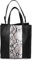 Romari Women Black Genuine Leather Hand-held Bag