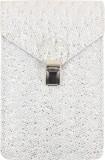 Dooda Women White Leatherette Sling Bag