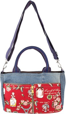 Obvio Women Blue Denim Sling Bag