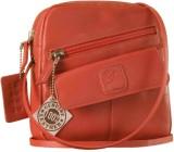 eZeeBags Women Pink Genuine Leather Slin...