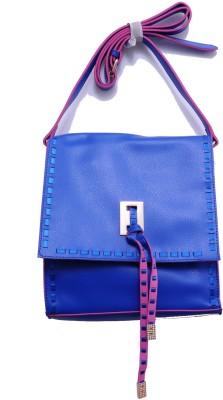Monett Women Blue PU Sling Bag