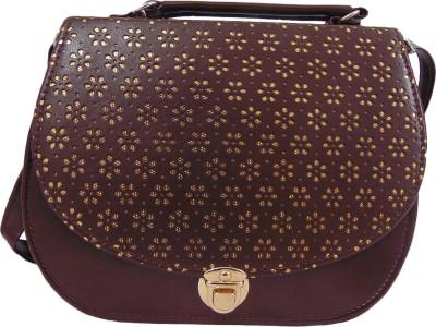 Estoss Women Purple PU Sling Bag