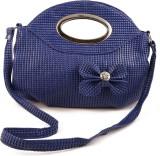 Chalissa Women Blue Rexine Sling Bag