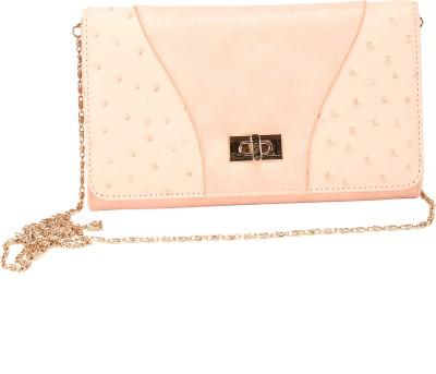 Mese Women Pink PU Sling Bag