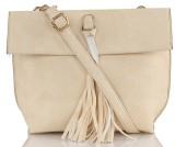 Legal Bribe Women Beige PU Sling Bag
