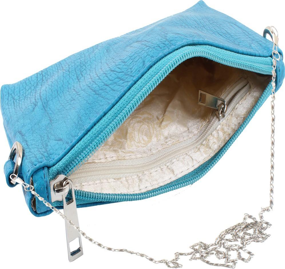 Sling bag below 500 - Dooda Women Blue Leatherette Sling Bag