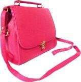 Chalissa Women Pink PU Sling Bag