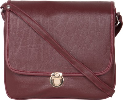 MTE Girls Tan Leatherette Sling Bag