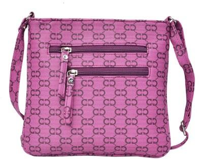 Hawai Women Purple PU Sling Bag