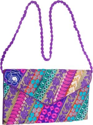 Craftsman Enterprises Girls Multicolor Cotton Sling Bag