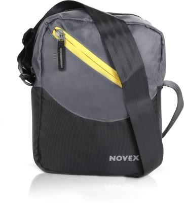 Novex Men, Boys, Girls Grey Nylon Sling Bag