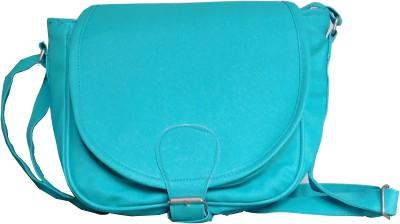 JTM Trading Girls, Women Blue PU Sling Bag