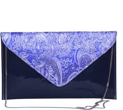 Notbad Women Casual Blue PU Sling Bag