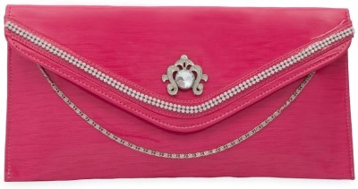 SkyWays Women Casual, Evening/Party Pink PU Sling Bag