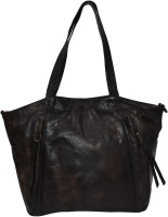 pellezzari Girls Brown Genuine Leather Hobo