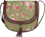 Lychee Bags Women Grey, Green, Pink Canv...