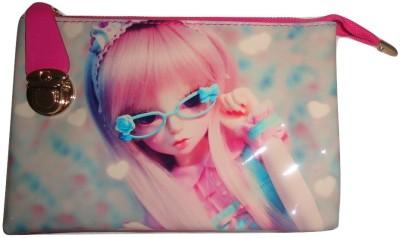 MIRAC Girls Pink PU Sling Bag