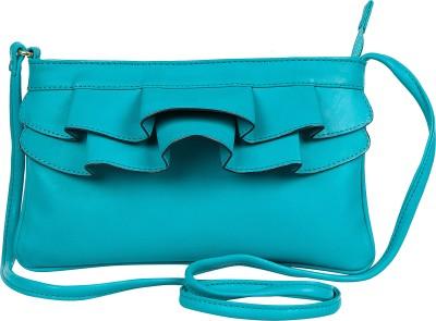 Lomond Women Evening/Party Blue PU Sling Bag