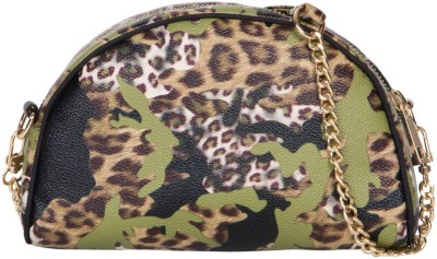 Cappuccino Girls Multicolor PU Sling Bag