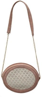Glitter Glory Girls Pink PU Sling Bag