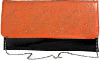 Just Women Women Casual Orange PU Sling Bag