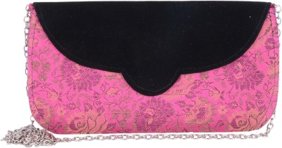 Anshul Fashion Wedding Pink  Clutch